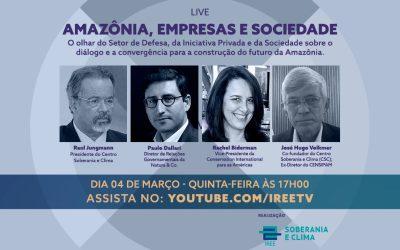 Live do CSC: Amazônia, Empresas e Sociedade