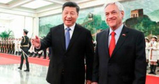 O avanço da relações da China com o Chile (em inglês)