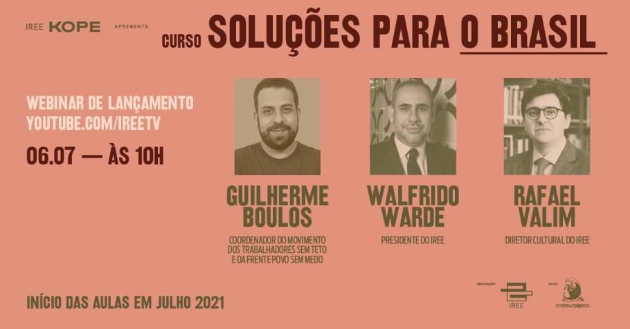 Webinar Soluções para o Brasil