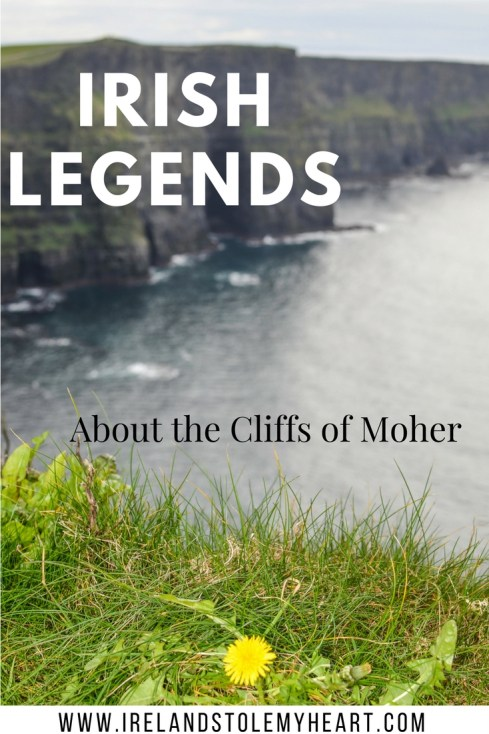 Legends about the Cliffs of Moher