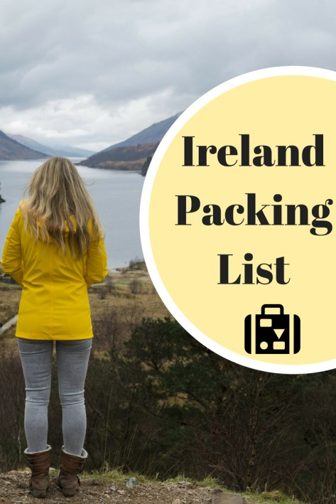 Wondering what to wear in Ireland? I've got you covered with my ultimate Ireland packing list for men and women!