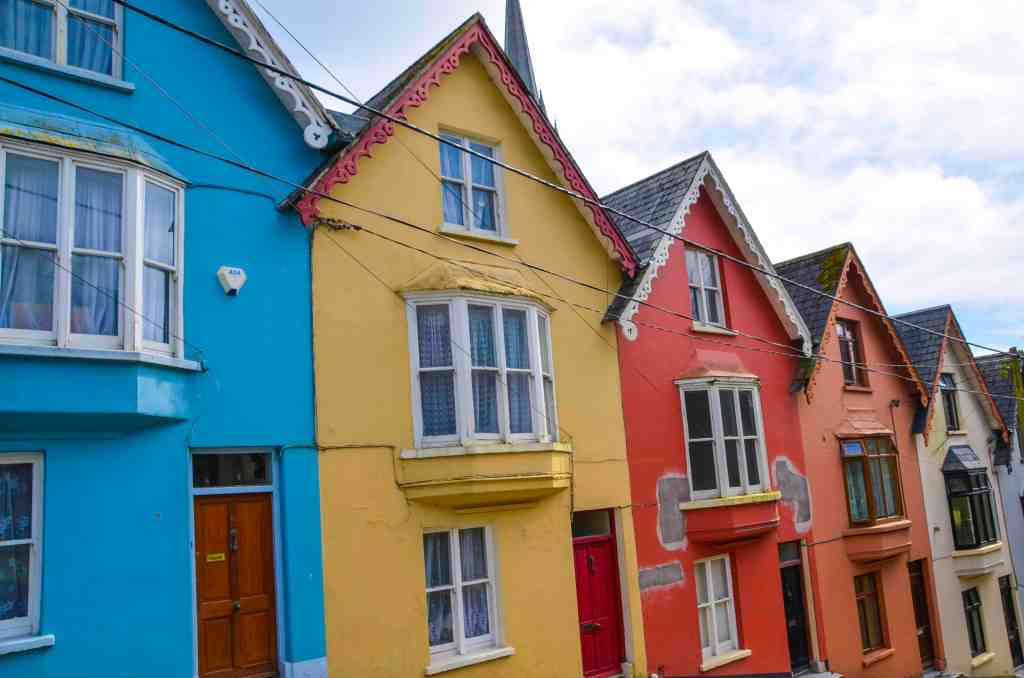 Colourful houses in Cobh