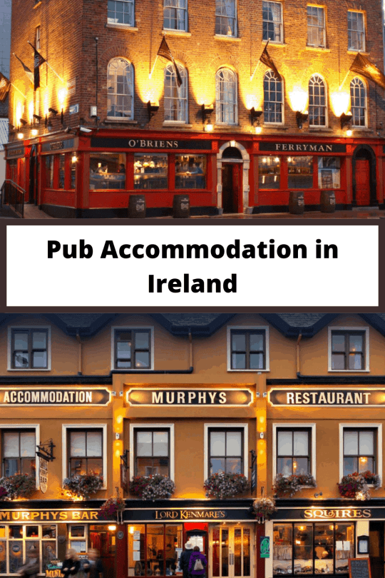 Pub Accommodation in Ireland