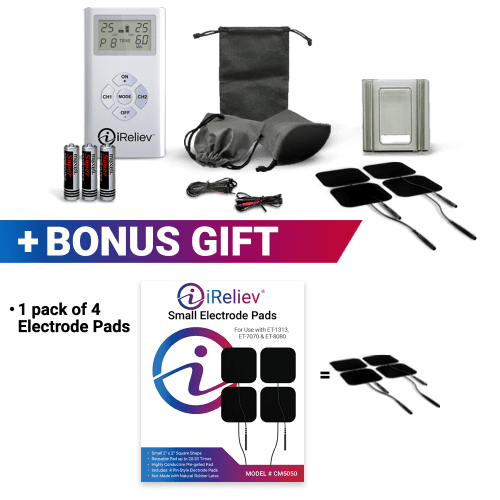 iReliev TENS Unit What's Included