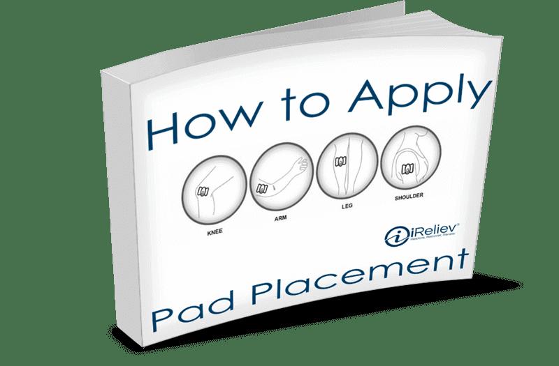 Tens Unit Pad Placement Chart