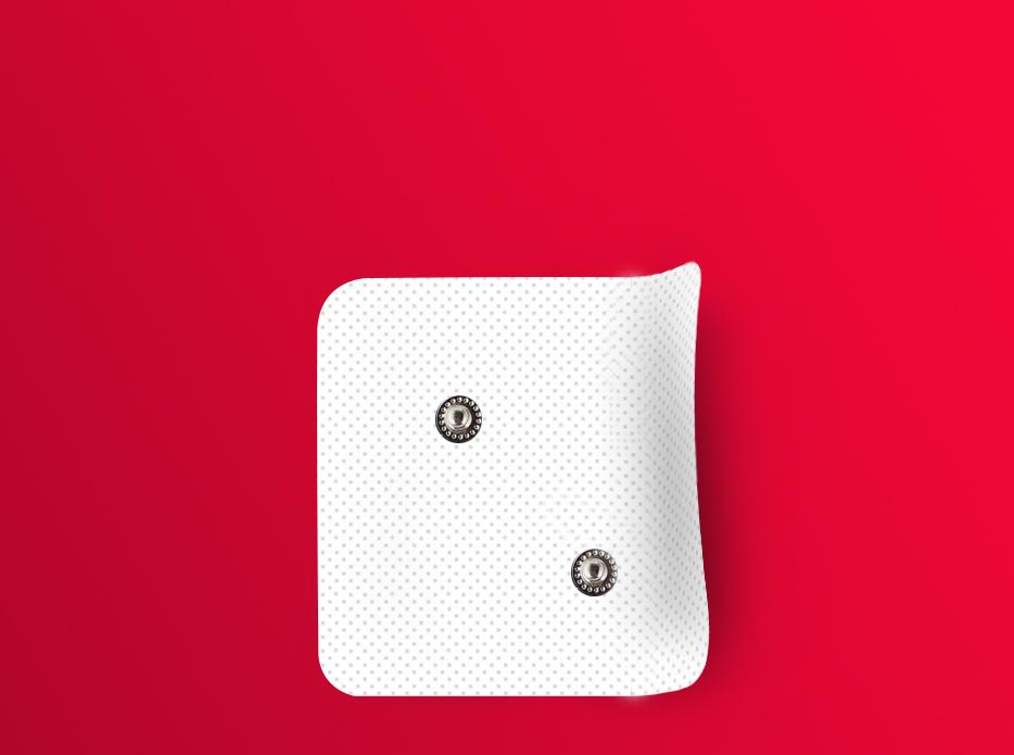 contoured pads