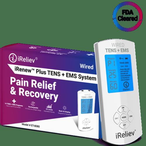 iRenew Plus TENS Unit EMS Device