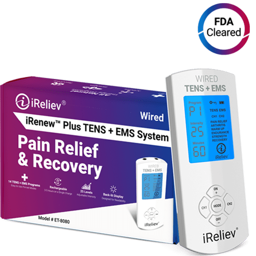 iRenew Plus TENS Unit EMS Device