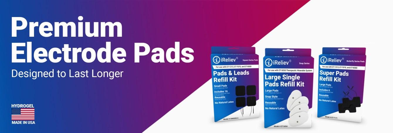 iReliev Premium Electrode Pads