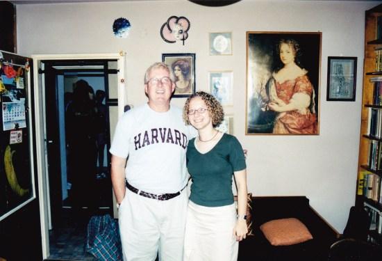 Teacher, Norm Conard and translator Margaret Marczewski at one of the primary interviews. Margaret's grandmother was a child survivor.