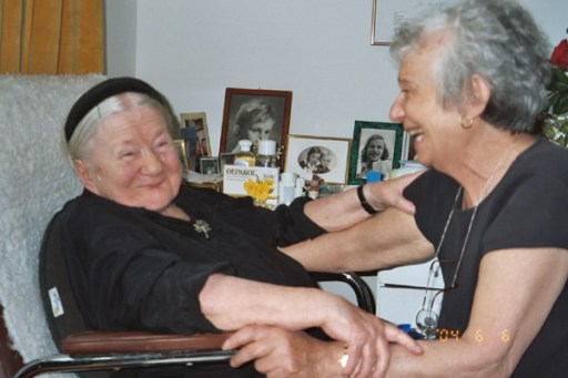 Irena with Margarita Turkow_6111246998_o