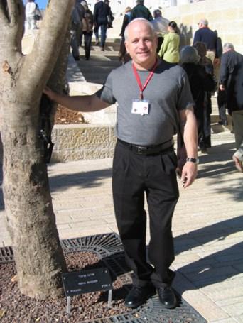 John Isenberg with Irena's Tree_6110711133_o