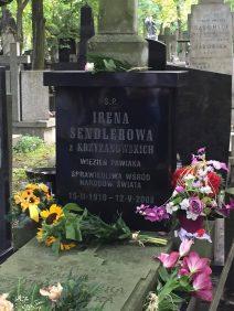 Irena Sendler's headstone