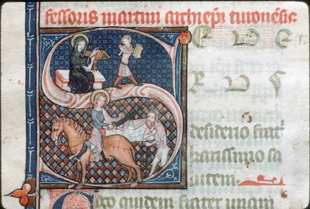 Conférence : Les représentations de Saint Martin dans l'imagerie médiévale
