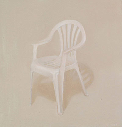 painting-2008-still-life-white-plastic-chair