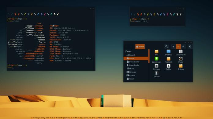 Solarized desktop