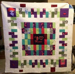 Terri's Memory Quilt, March 2016 (pattern by Aby Dolinger)