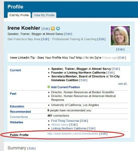 linkedin profile url 2 - LinkedIn profile URL