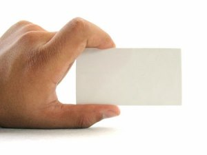 business card with hand - business-card-with-hand