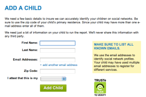 socialshield add a child - almostsavvy - socialshield add a child