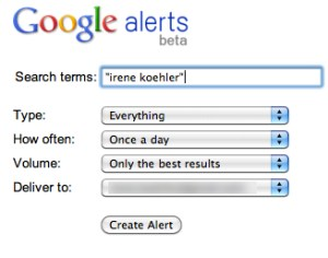 google alerts set up - google alerts set-up