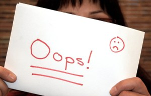 oops  - 3 Mistakes You're Making Online AlmostSavvy.com