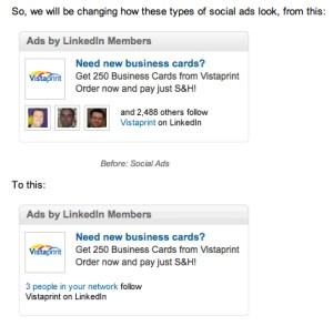 LinkedIn new social ads - LinkedIn new social ads