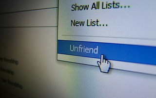 Getting unfriended on Facebook