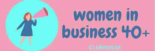 Twitter Header 1500x500 px - Clubhouse Women in Business 40+ Facebook Group