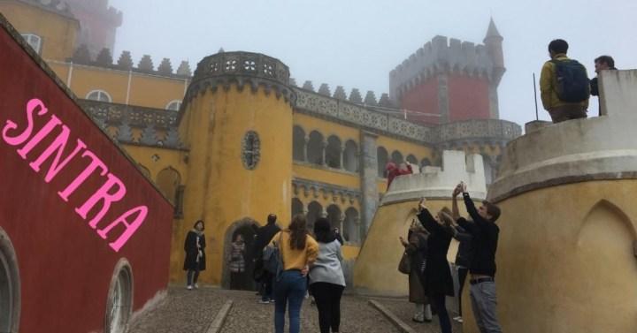 葡萄牙辛特拉景點 |辛特拉一日遊 佩納宮、摩爾人城堡