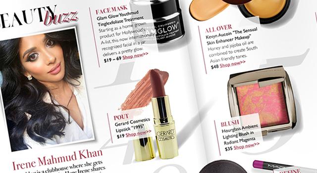 My Beauty Must Haves – Zardozi Magazine SS15