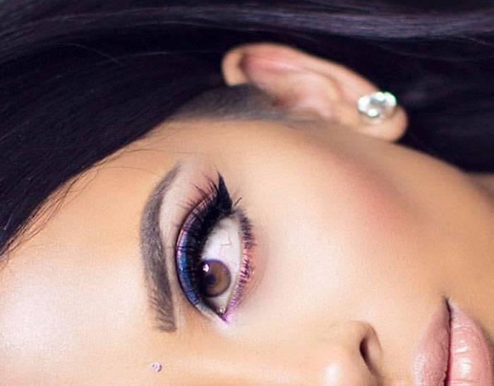 Glitter Navy Blue Tutorial | Eid Makeup