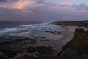 De kustlijn van de Algarve