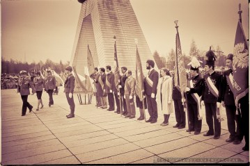 Pomnik Walki i Pracy 1 MAJ 1984 - Tychy