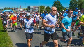 XXV_BIEG FIATA_28.05.2017 w Bielsku-Bia³ej, odby³a siê 25. edycja Biegu Fiata, jednego z najstarszych biegów w Polsce rozgrywanych na dystansie 10 km. Pomimo wyj¹tkowo wysokiej temperatury, na mecie zameldowa³o siê 1671 biegaczy pochodz¹cych z siedmiu krajów. Biegowi g³ównemu startuj¹cemu sprzed bram fabryki FCA Poland towarzyszy³ 3-kilometrowy Bieg m³odzie¿owy.Godnym uwagi akcentem 25. Biegu Fiata by³ udzia³ biegaczy z akcji spo³ecznej Spartanie Dzieciom, którzy zbierali fundusze na pomoc niepe³nosprawnej Agnieszce. Fot Ireneusz KAMIERCZAK.