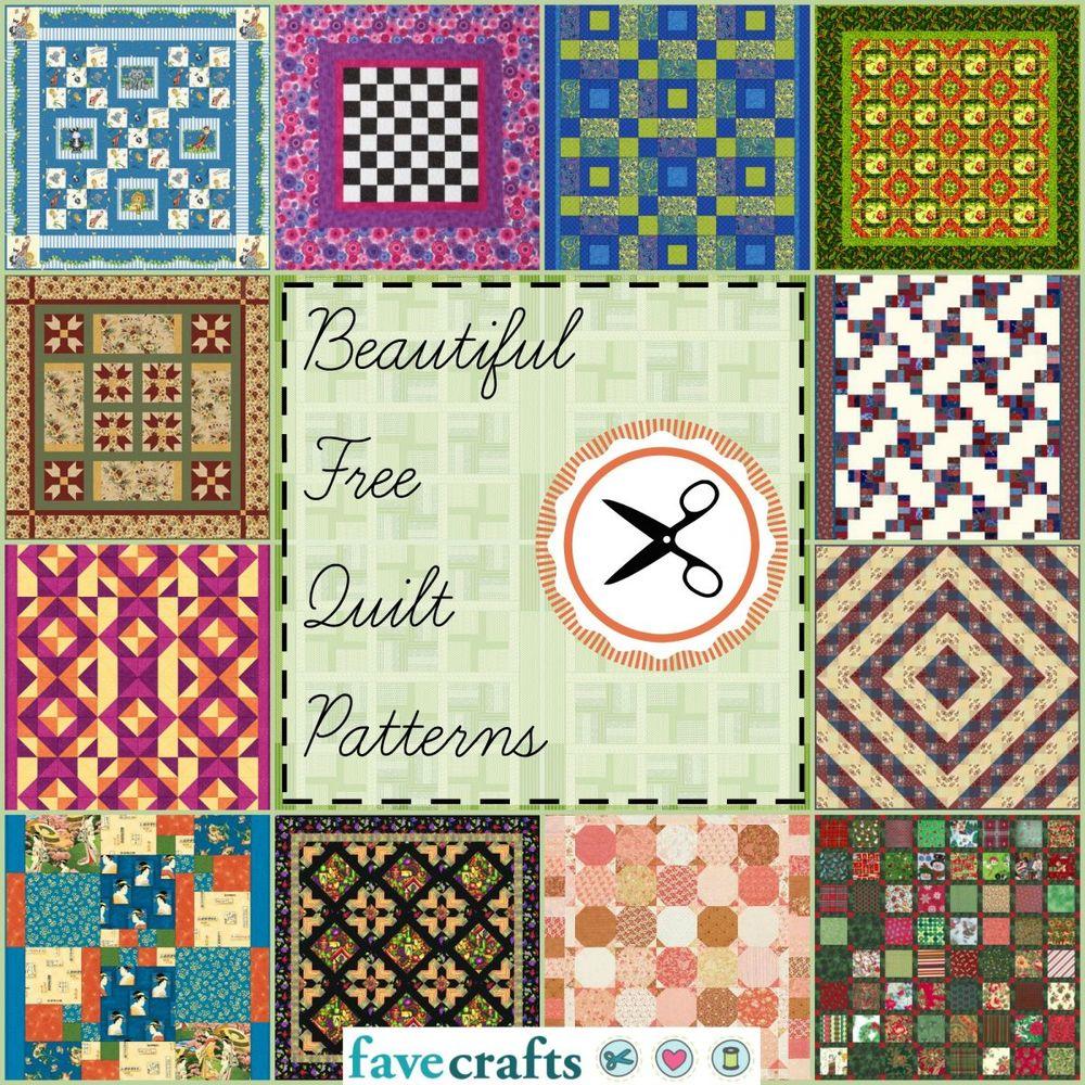 38 Free Quilt Patterns