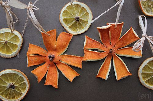 Dried Orange And Clove Tree Garland