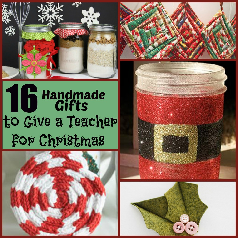 16 Handmade Gifts To Give A Teacher For Christmas