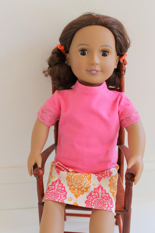 American Girl Doll Knit Shirt