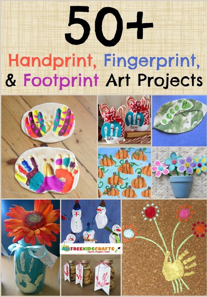 57 Handprint Art Fingerprint Art And Footprint Art