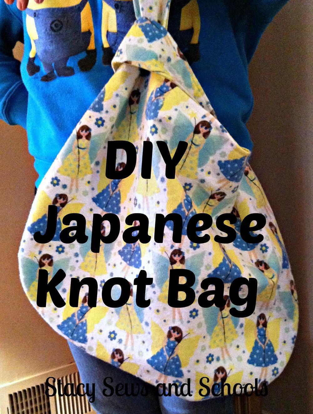 2 Yard Japanese Knot Bag