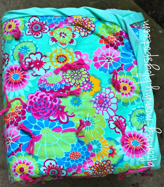 Blooming Tied Quilt