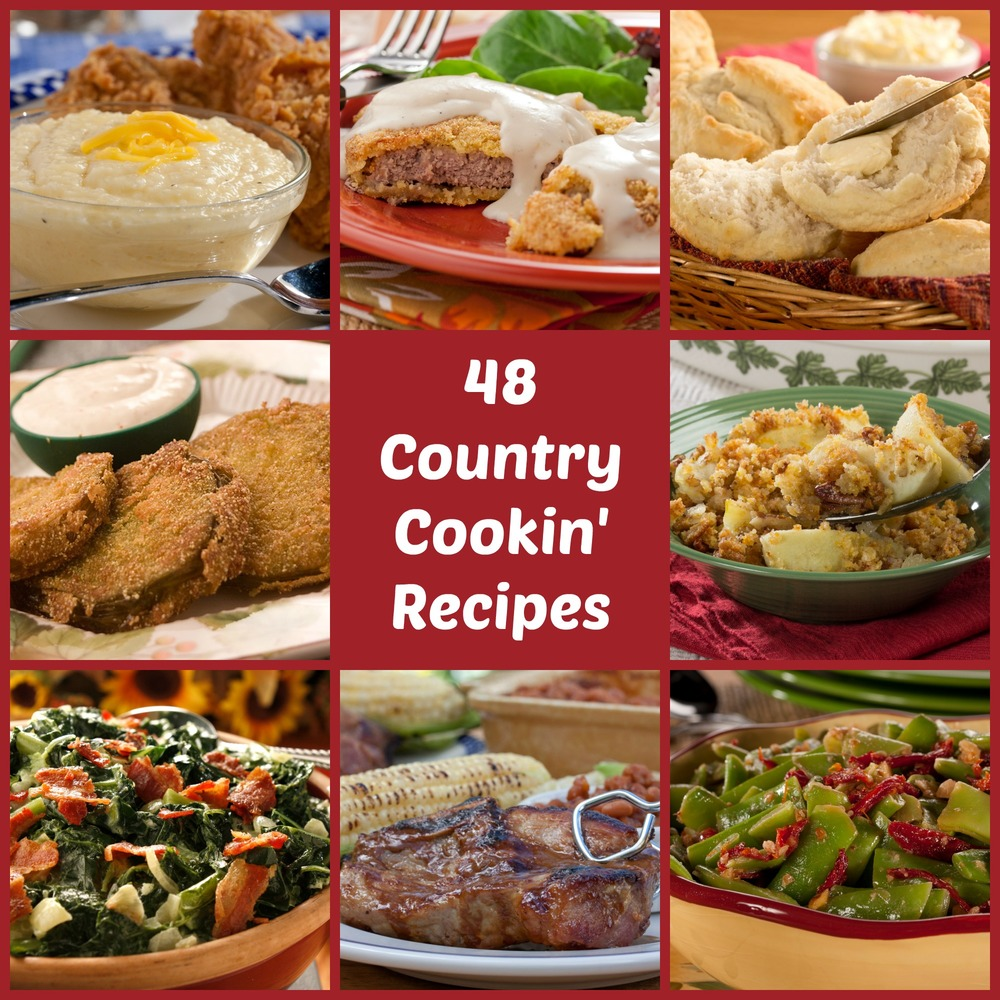 Country Cooking 48 Best Loved Southern Comfort Recipes