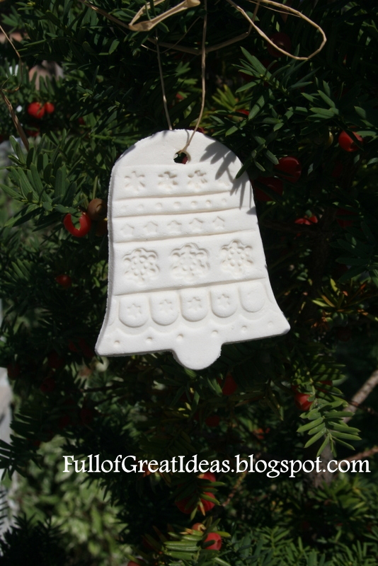 Homemade Cornstarch And Baking Soda Christmas Ornament