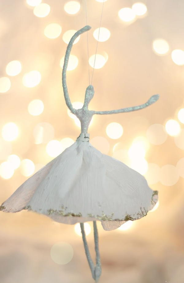 Ballerina DIY Christmas Ornament