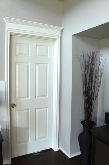 Simple Crown Door Molding