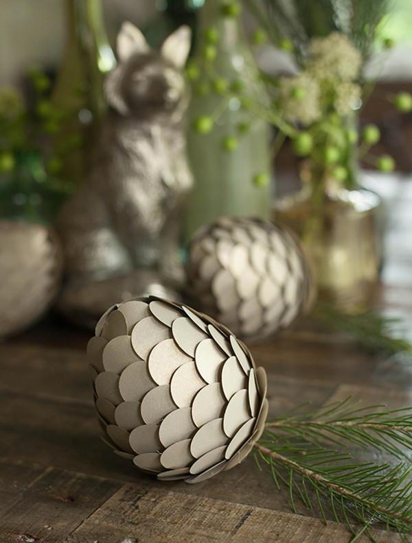 Paper Pine Cone Crafts Allfreediyweddings Com
