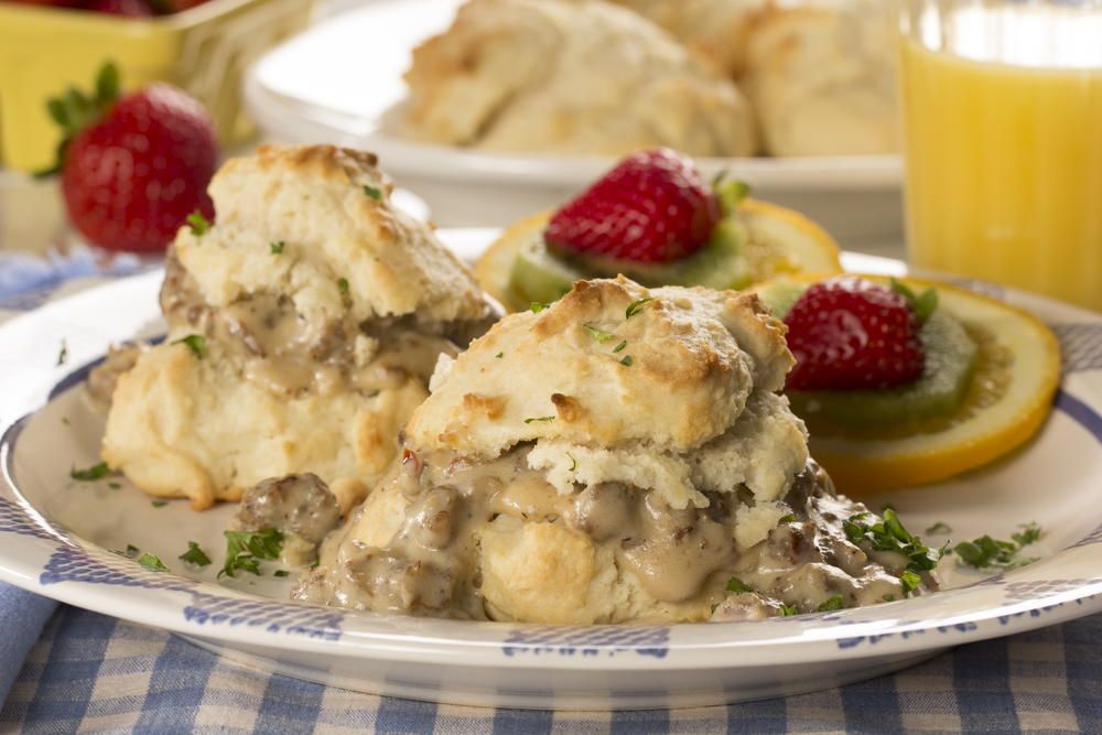 Homemade Biscuits And Gravy Mrfood Com