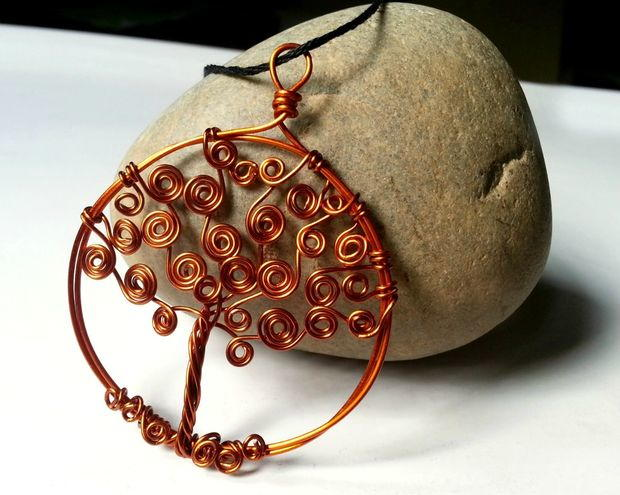 Diy Tree Of Life Wire Pendant Allfreejewelrymaking Com