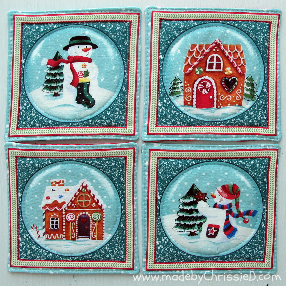 Fabric Coaster Quilt Pattern